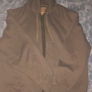 Very heavy thick brown hoodie/jacket